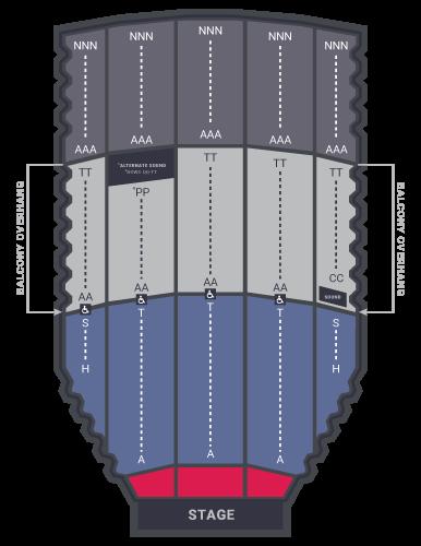 selena Auditorium floorplans