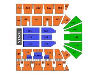 Floor Plan - Concert