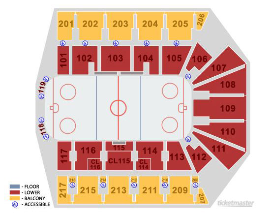 IceRays Floor Plan